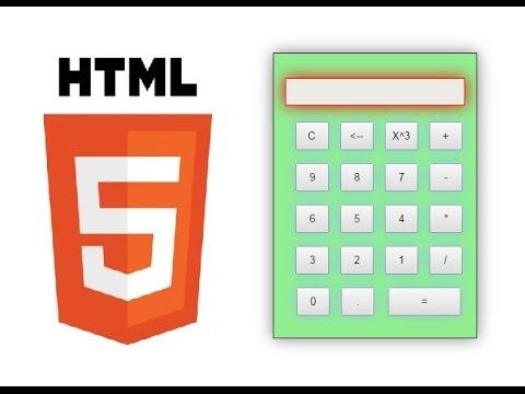 HTML5 Calculator App Development Tutorial 1 | Setup HTML Page