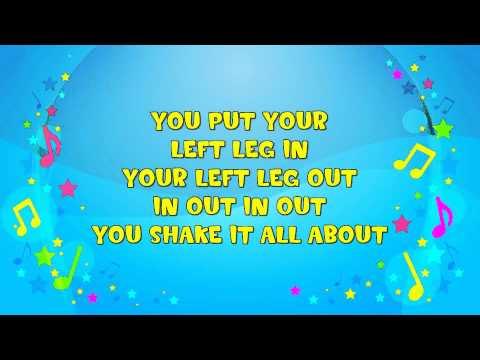 The Hokey Cokey | Sing A Long | The Hokey Pokey | Action Song | Party | Nursery Rhyme | KiddieOK
