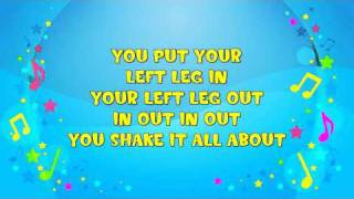 The Hokey Cokey | Sing A Long | The Hokey Pokey | Action Song | Party | Nursery Rhyme | KiddieOK