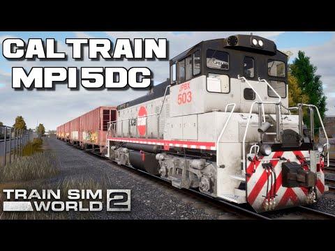 Caltrain MP15DC Diesel Switcher Train Sim World   Introduction To The Caltrain MP15DC  