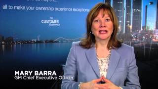 Message to customers - Mary Barra, General Motors