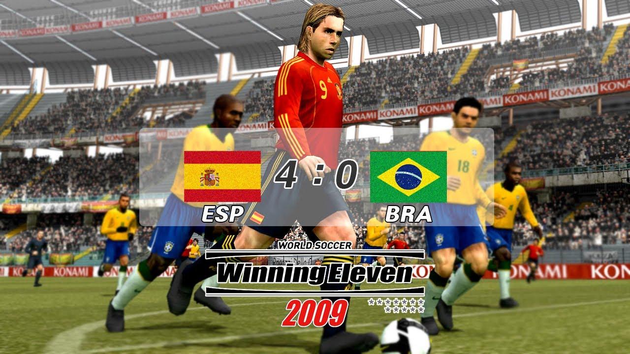 WE2009 (Match Highlights: Spain V Brazil)