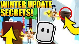 ALL MARSHMELLOW + SECRET WINTER PUZZLES IN ICE CREAM SIMULATOR UPDATE! (Roblox) *Tutorial*