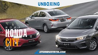 2021 Honda City 7th Generation - Unboxing