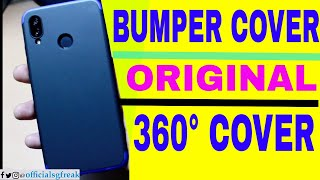 Best Hybrid Bumper Cover for Huawei P20 lite | 360 degree cover for Huawei P20 Lite |ORIGINAL COVER