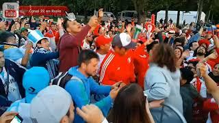 Lo que pasó entre peruanos y argentinos fuera del FanFest cuando se encontraron