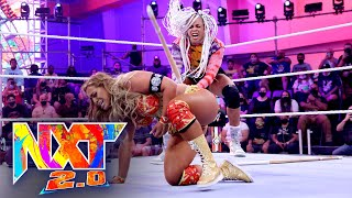 B-Fab vs. Elektra Lopez – No Disqualification Match: WWE NXT 2.0, Sept. 28, 2021