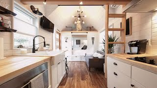 Unique Modern Tiny House With Charming 2br / 1ba Giving Up All The Comforts Of Home