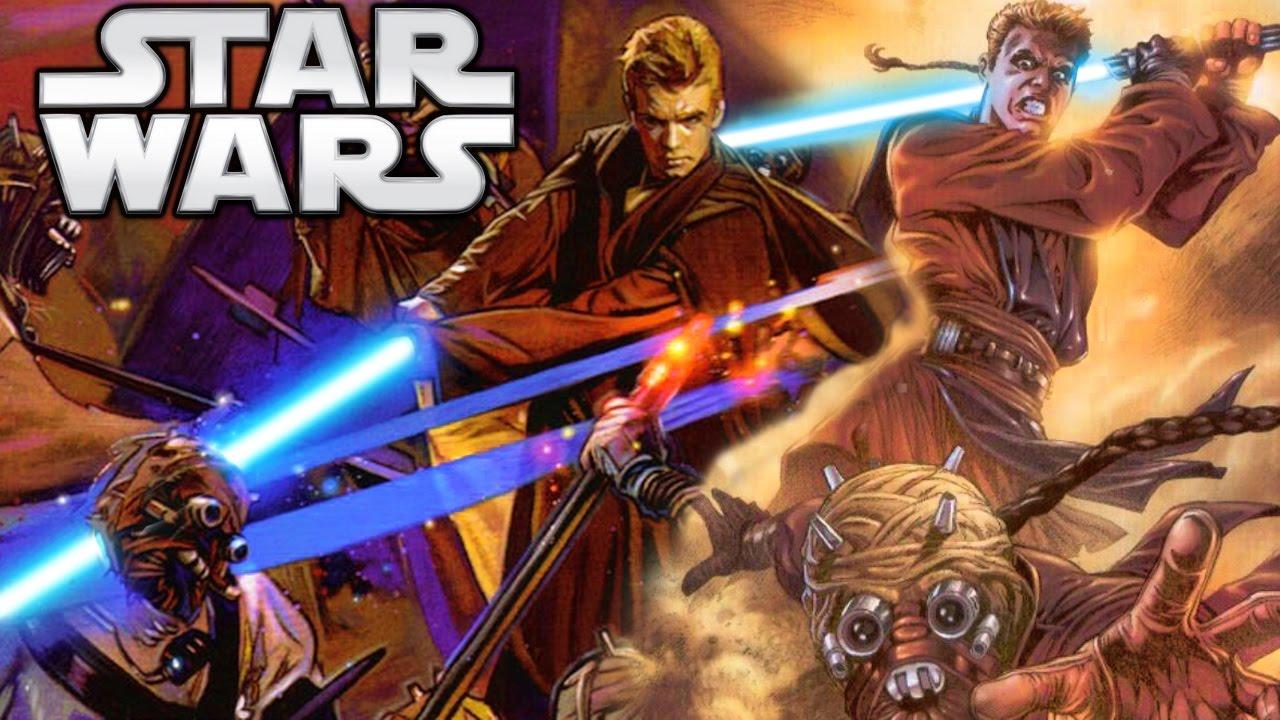 How Did Anakin Kill The Sand People On Tatooine Star Wars Explained