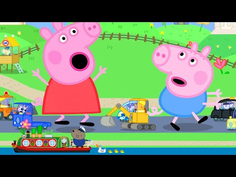 Peppa Pig Official Channel | Giant Peppa Pig and George Pig