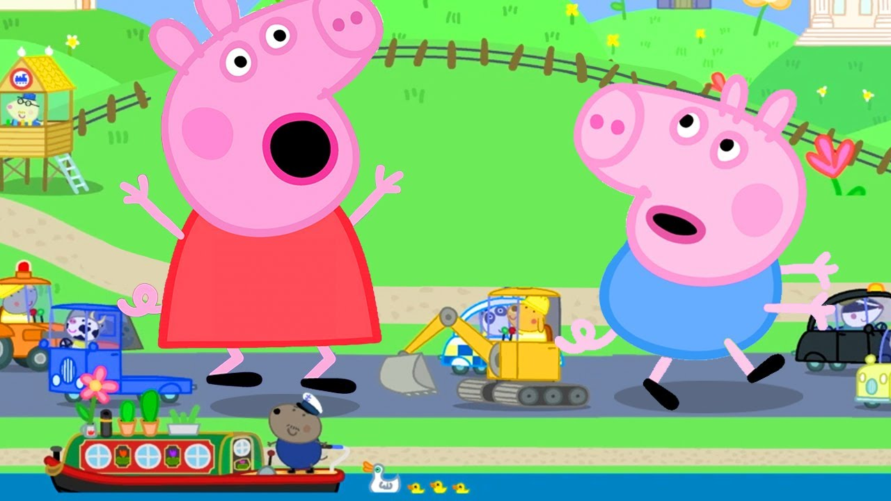 Download Peppa Pig Official Channel | Giant Peppa Pig and George Pig