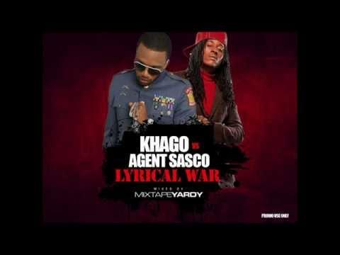 Khago vs Agent Sasco - Lyrical War DanceHall Mix - @MixtapeYARDY