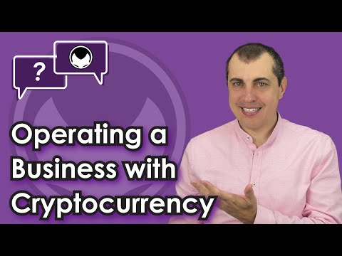 Bitcoin Q&A: Operating a business with cryptocurrency Cryptocurrency Videos on VIRAL CHOP VIDEOS