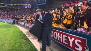 Roughead ripped by gutter bolts - AFL
