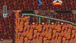 SEGA MEGA DRIVE - Mega Man X - Underground Mines Stage by TiagoSC (WIP)