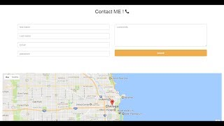 #14 google map integrate with website Html css 3 and bootstrap Free HD Video