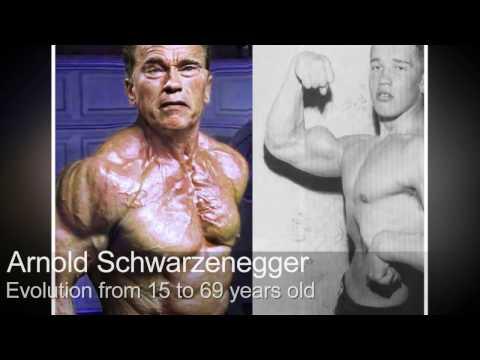 Как  менялся Арнольд Шварценеггер-c 15 до 69 лет