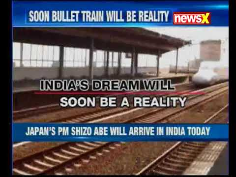 Japanese PM Shinzo Abe to launch $17-billion Indian bullet train project