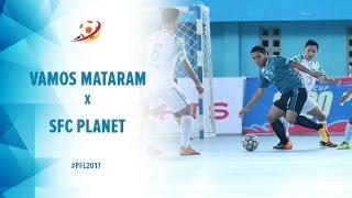 Vamos Mataram (4) vs (0) SFC Planet Sleman  - Pro Futsal League 2017