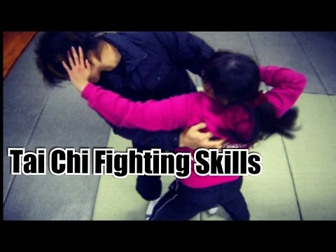 Top 10 Tai Chi fight moves in real combat - awesome tai chi chuan