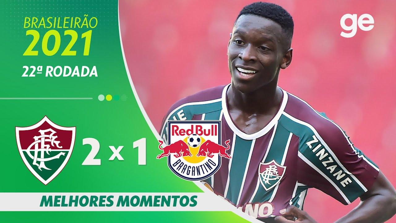 Download FLUMINENSE 2 X 1 BRAGANTINO   MELHORES MOMENTOS   22ª RODADA BRASILEIRÃO 2021   ge.globo