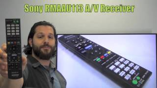 SONY RMAAU113 Audio/Video Receiver Remote Control - www.ReplacementRemotes.com