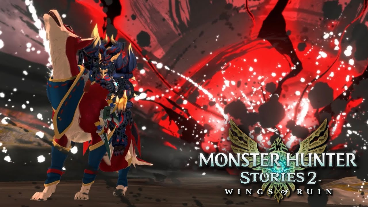 HIGH CRIT PALAMUTE Dragon Damage Build | Monster Hunter Stories 2