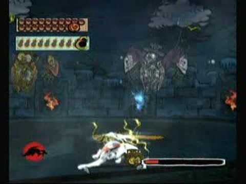 Okami Boss Battle - Lechku and Nechku (Wii Version)