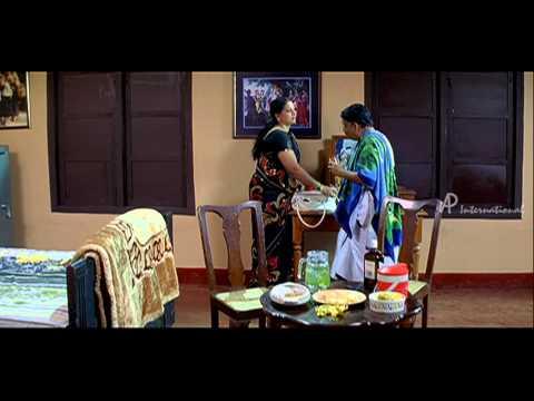 Pen Pattanam Malayalam Movie   Malayalam Movie   Nedumudi Venu   in Home with Wife   HD