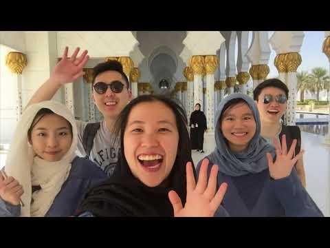 TRAVEL VLOG 🇦🇪 | GRADUATION TRIP | WE WENT TO UNITED ARAB EMIRATES - ABU DHABI, DUBAI (PART 1)