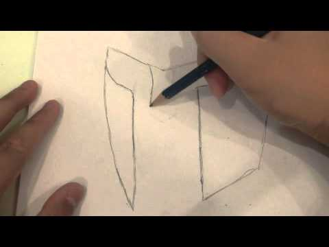 How To Draw A Spartan Helmet Youtube