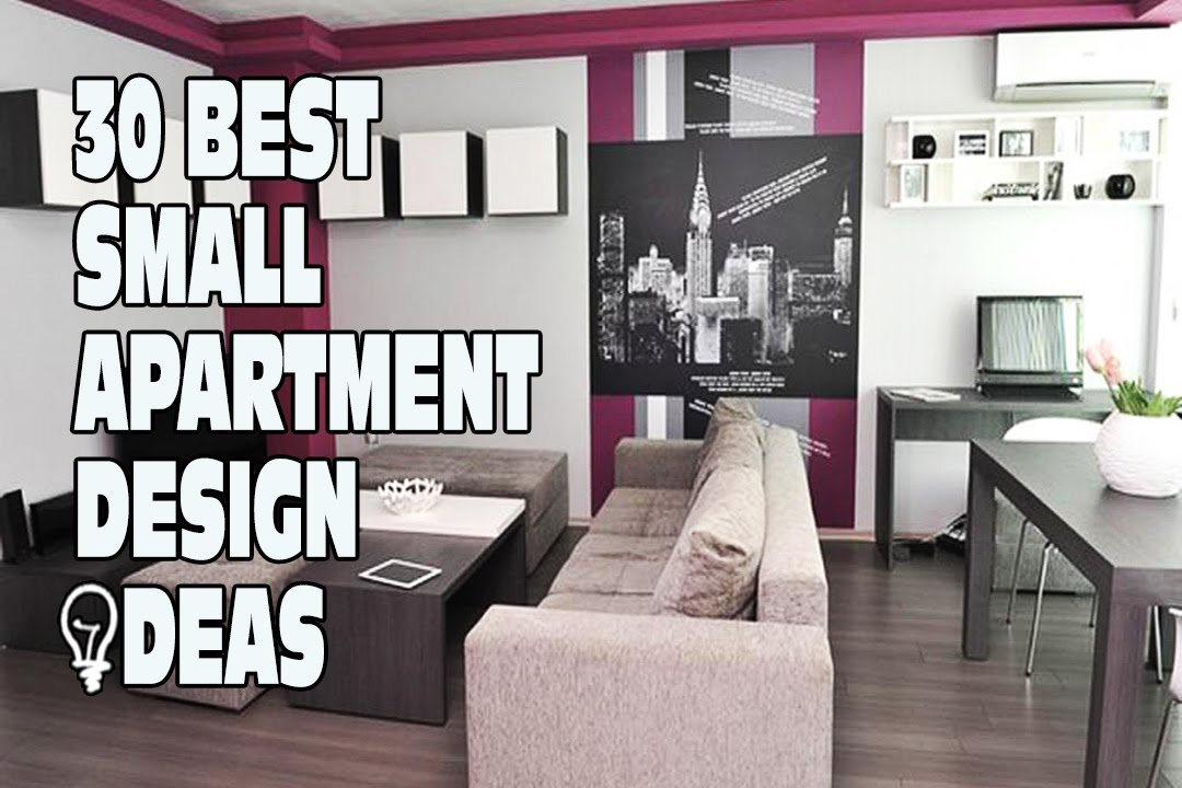 30 best small apartment design ideas youtube - Interior design for small space apartment image ...