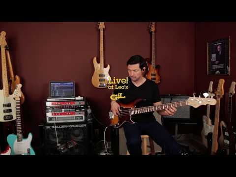 Live! At Leo's: G&L SB-1 Full Demo with Steve Araujo