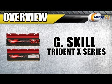 Newegg TV: G.SKILL Trident X Series 16GB DDR3 SDRAM DDR3 2666 Desktop Memory Overview