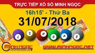 Trực tiếp xổ số MINH NGỌC T3 Ngày 31-07-2018 - Kênh Youtube chính thức từ Minhngoc.net.vn