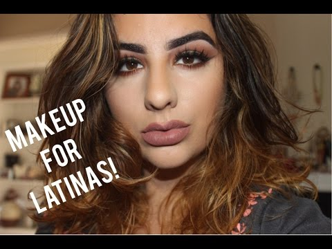 Makeup tips for Latinas/olive skin women - YouTube