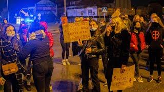 Strajk kobiet w Ostrołęce