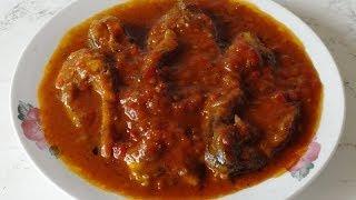 Рыба в томатно-апельсиновом соусе / Fish in tomato and orange sauce