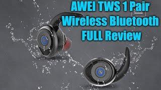 AWEI TWS 1 Paar van Draadloze Bluetooth VOLLEDIGE Review