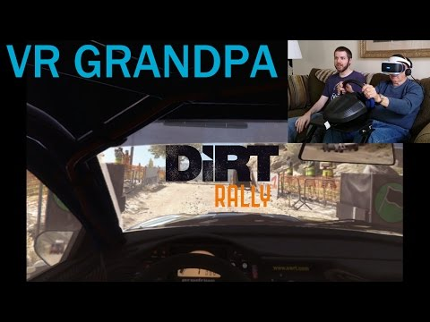 VR Grandpa Rides Again... and gets sick (Dirt Rally VR)