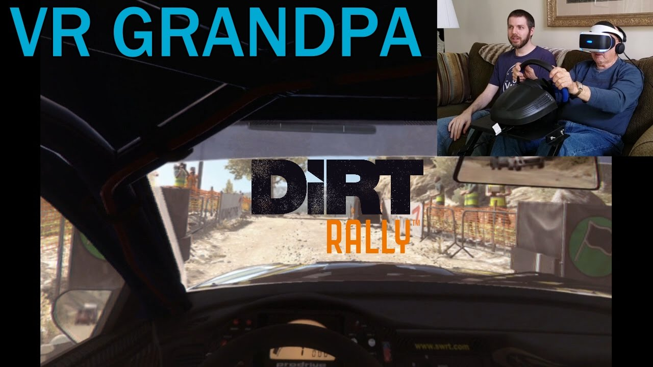 vr grandpa rides again and gets sick dirt rally vr youtube. Black Bedroom Furniture Sets. Home Design Ideas