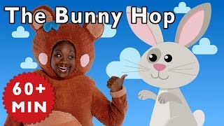 The Bunny Hop and More | Nursery Rhymes from Mother Goose Club!
