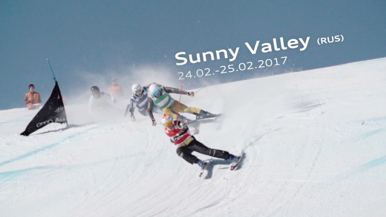 Audi FIS Ski Cross World Cup Sunny Valley, Russia 2017 Trailer