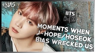 Video BTS J-HOPE/HOSEOK - MOMENTS WHEN HE BIAS WRECKED US download MP3, 3GP, MP4, WEBM, AVI, FLV April 2018