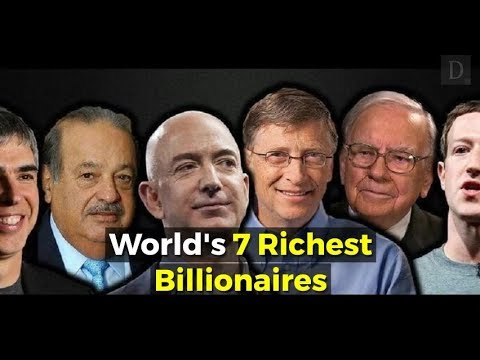 Just 7 Men Own Same Wealth As Half The World