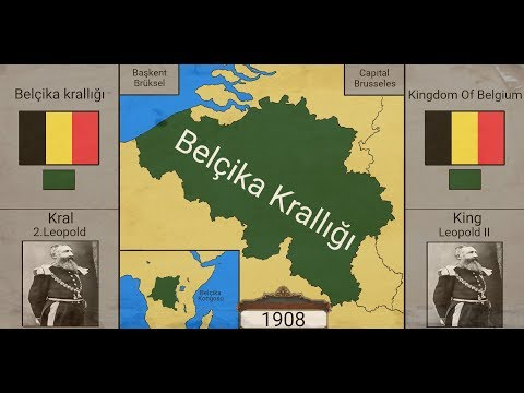 Belçika Krallığı Tarihi-History of the Kingdom of Belgium-{Harita}