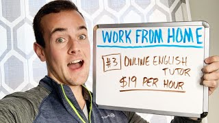 The 7 BEST Ways To Make Money From Home!