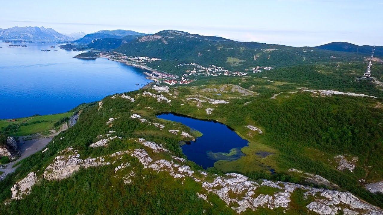 Pallvatnet on Rønvikfjellet in Bodø