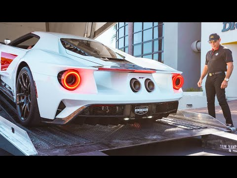 TAKING DELIVERY OF MY FORD GT HERITAGE EDITION!! | Manny Khoshbin