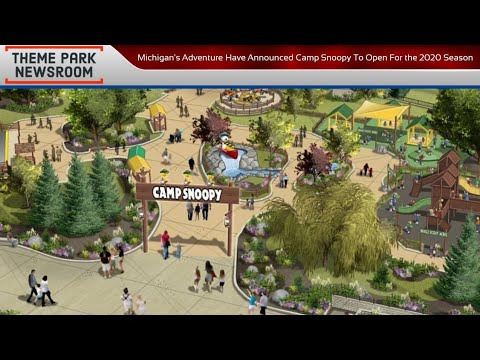 Michigan S Adventure Have Announced Camp Snoopy To Open For The 2020 Season Youtube